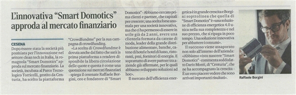 Smart Domotics su Crowdfundme.it : l'efficienza energetica 4.0 cresce con i capitali degli investitori